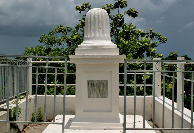 A Freedom monument to celebrate the major date in Guadeloupe history