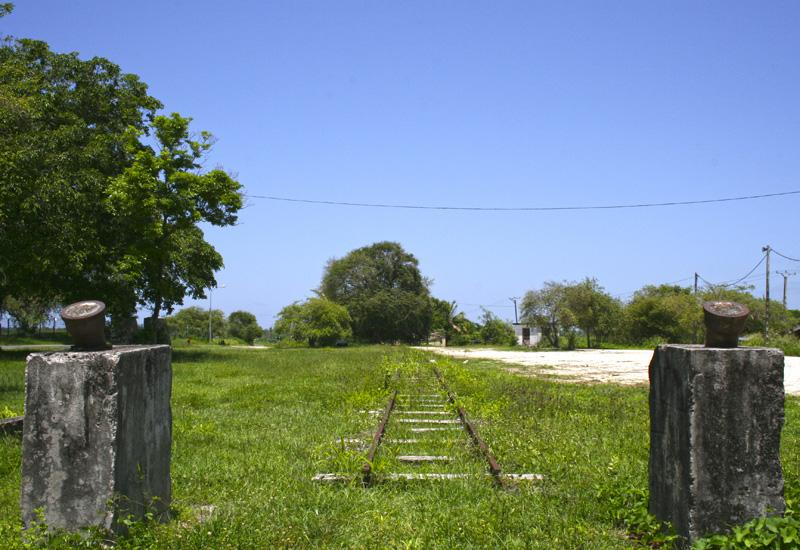 Petit-Canal (Guadeloupe) - Former factory of Duval:Transport was by rail