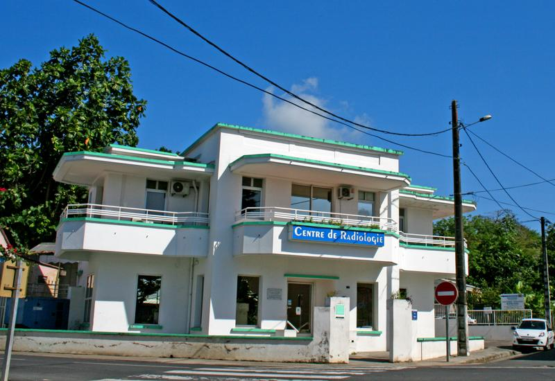 The Monnerville House in Morne-à-l'Eau now houses a radiology center