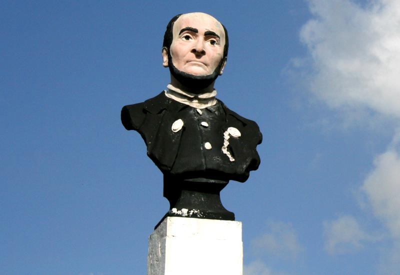 Bust of Victor Schœlcher - Morne-A-l'Eau, Guadeloupe: the face of a man of conviction