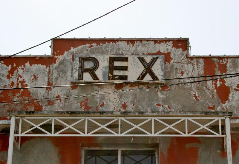 Port Louis. Cinema Rex, a name that has thrilled moviegoers from North Grande Terre
