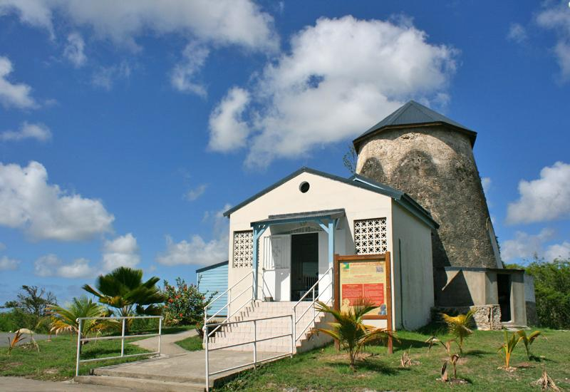 Guadeloupe, city of Port-Louis. Mill Chapel of the Pieta