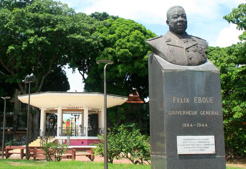 Félix Eboué. Admired and respected by all