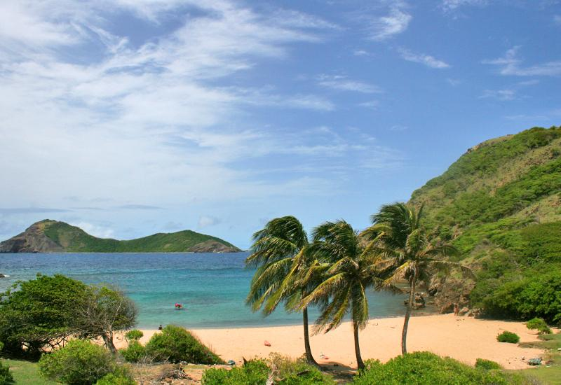 In Terre-de-Haut, Anse Rodrigue is an appreciable place of relaxation