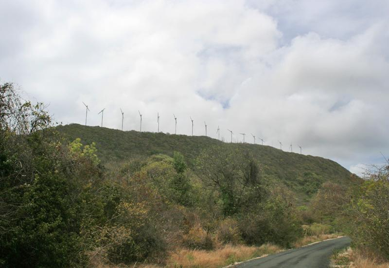 Small Place Wind Turbines Alignment