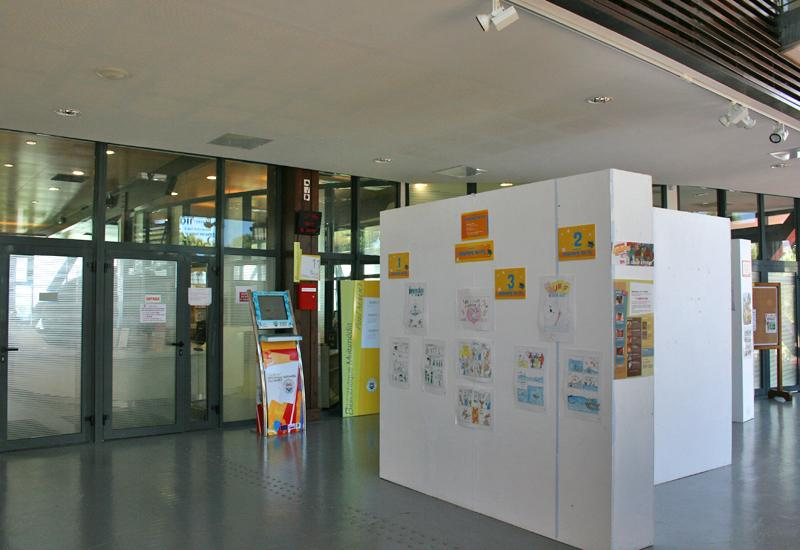 Paul Mado multimedia library: exhibition during the event