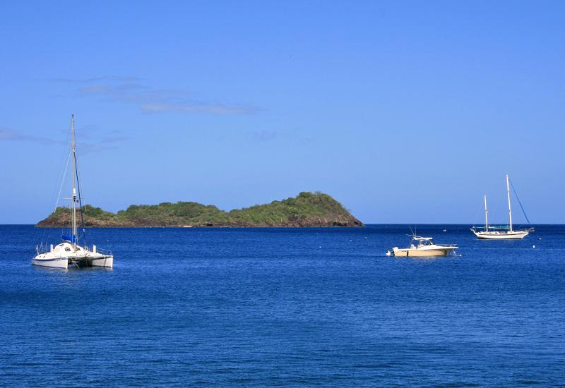 Beautiful view of Pigeon islets