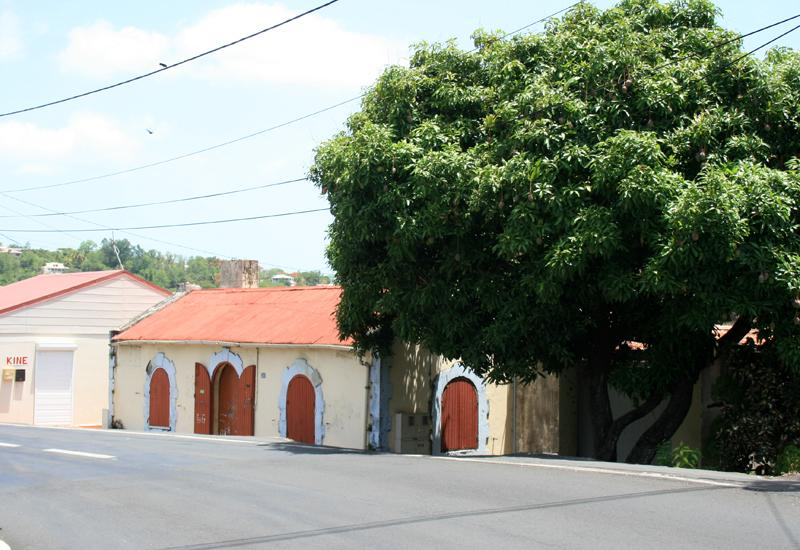 Bouillante, Guadeloupe. Old jail, located on Albert Racon Street
