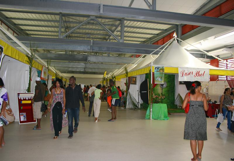"Le Gosier, Palais des Sports, exhibition on the theme of ""local manufacturing"""