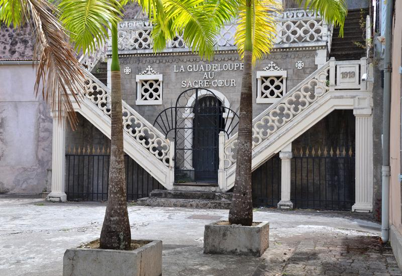 Evêché - Basse-Terre, Guadeloupe: the main building