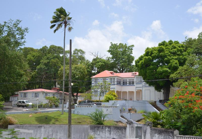House of the Elders - Basse-Terre. Imposing Creole house