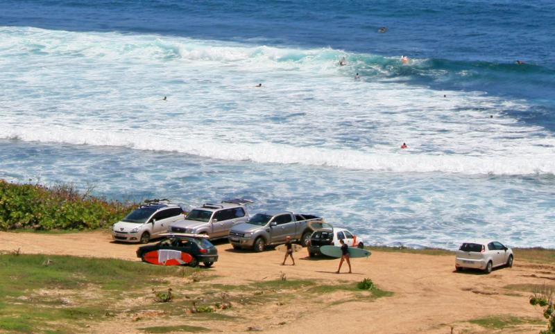 Well-known venue for surfers