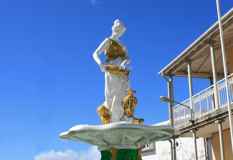 Saint-Claude, the Adolphine Fountain: water, source of life