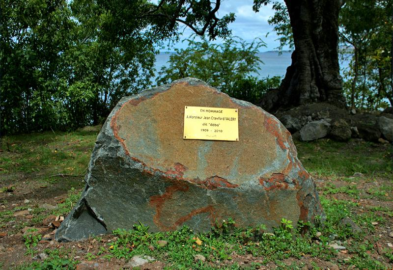 Guadeloupe - Vieux-Fort, eco-tourist area of ​​Trois-Pointes: tribute to Déba