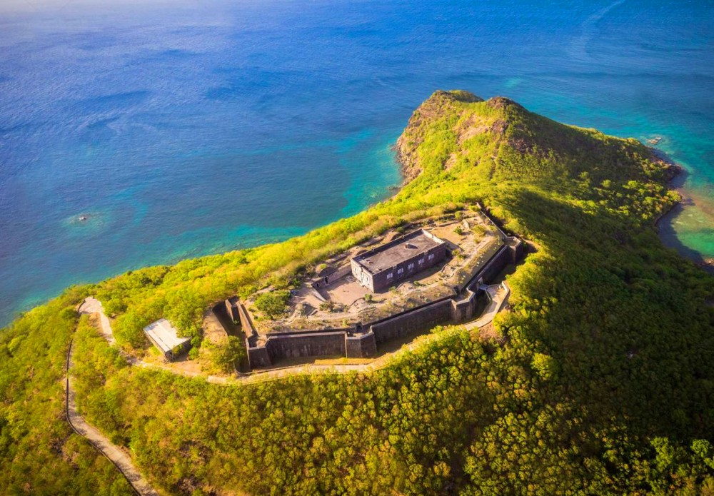 Fort Napoleon, on the Morne Mire at Saintes islands