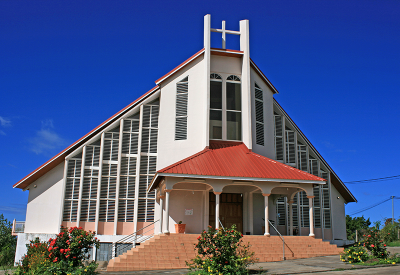 The Adventist Church of Vieux-Habitants